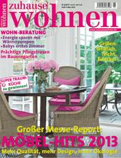 Zeitschrift zuhause wohnen